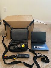 New listing Sony Portable Dvp Player Fx950 9 Inch Screen with Case, Straps, Cords & Remote