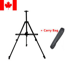 Adjustable Artist Metal Folding Painting Easel Display Tripod Stand + Carry Bag