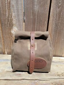 Frost River Waxed Canvas/Leather Lunch Bag