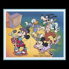 "Gambia, Sc #1911, Mnh, 1997, S/S, Disney, "" Minnie thru the Years"" Di325"