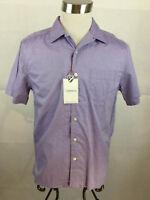 Cremieux Shirt Mens Medium Purple NWT 100% Cotton New