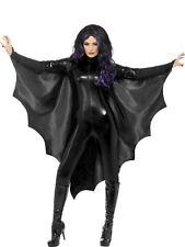 vampiro pipistrello Mantello NUOVO - Donna Carnevale Travestimento Costume