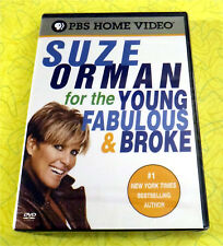 Suze Orman - For the Young, Fabulous and Broke ~ New DVD Video ~ PBS Financial