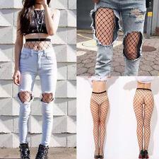 Damen Frauen Mesh Netzstrümpfe Fishnet Strümpfe Damen Pantyhose Strumpfhosen