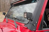 Jeep Lower A-Pillar Light Mounts (97-06 Wrangler TJ)     70046