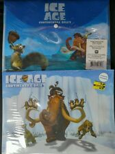"Disney Pixar Ice Age folder 6pc Continental Drift / 6 carpetas ""La era de Hielo"""