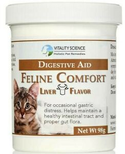 Vitality Science Feline Comfort - For Cat Vomiting & Cat Diarrhea - All Natural