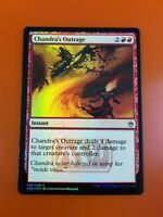 1x Chandra/'s OutrageFOILMasters 25MTG Magic Cards