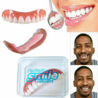 Smile Veneers Instant Cosmetic Teeth Cover Fix One Size Fits All Perfect On