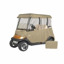 Greenline 2 Passenger Drivable Universal Heavy Duty Golf Cart Enclosure - Tan