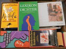 40 Bücher Hardcover Romane Sachbücher verschiedene Themen Paket 7
