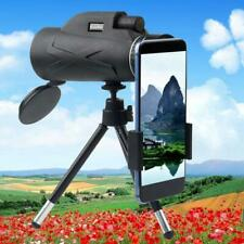 80X100Monocular Low-Light Night Vision Hd Mobile Telescope +Phone Holder +Tripod