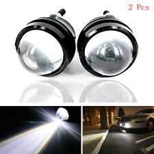 2 Pcs Bull Eyes White LED CREE Car Daytime Fog Lights Reversing Lamps For Holden