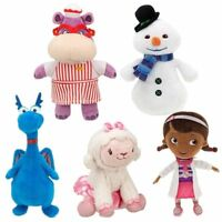 Disney Doc McStuffins Chilly Snowman Hallie Hippo Lambie Dragon Plush Toy Doll