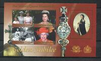 s8534) PAPUA & NEW GUINEA MNH** Nuovi** 2002, Golden jubilee s/s