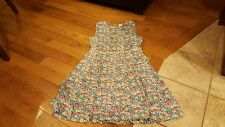 Matilda Jane women's brown and blue floral dress size 10 NWT
