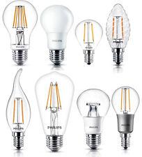 PHILIPS LED Lampen SONDERPOSTEN Birnen Kerzen Tropfen bis 7,5 Watt dimtone