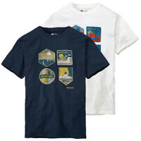 Timberland Men's Short Sleeve Outdoor Badge Graphic T-Shirt A15LS