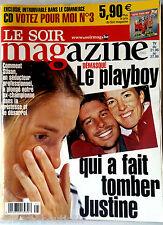 Soir Magazine 20/10/2010; Justine Hénin/ Mireille Darc/ Patrick Dempsey/ Thiempo
