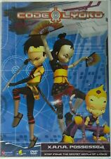 CODE LYOKO X.A.N.A.POSSESSED VOLUME 3 Five Episodes Giant Robots Killer Wasps