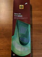 New Spenco Rx Thinsole Orthotic Full Length Arch Insert Insole Support All Sizes