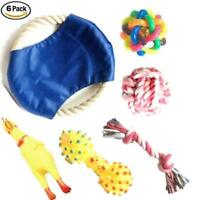 Chew and Squeaky Dog Toys for Puppy Doggie and Small Medium Dog. 6 pcs inside