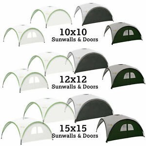 Coleman Event Shelter Sunwall Wall Window 10x10 12x12 15x15 Gazebo Side Panel