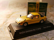 EBBRO MAZDA SAVANNA RX-7 YELLOW  ART.149  DIE- CAST NEW