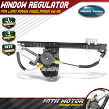 Power Window Regulator w/ Motor for 2002-2005 Land Rover Freelander Rear Right