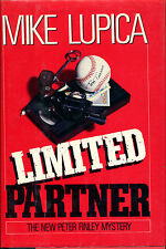 Limited Partner by Mike Lupica-First Edition/DJ-1990-A Peter Finley Mystery