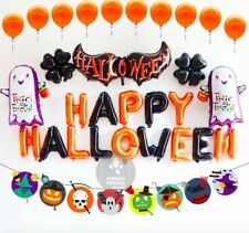 Halloween Balloons Complete Party Set Decorations Happy Halloween Trick or Treat