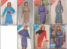 Vintage SEE & SEW  Ladies Sewing Patterns - 7 Designs!! Reduced to Clear!