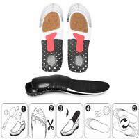 Orthotic Arch Support Shoe Pad Active Carbon Fiber Remove Odors Insoles Z36101