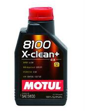OLIO MOTORE MOTUL 8100 X-clean+ 5W30 VW 504 00 / 507 00 - 229.51 - BMW LL-04