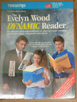 The Evelyn Wood Dynamic Reader for IBM PC, Tandy & compatibles 1987. MINT SEALED