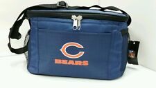 NFL Chicago Bears Lunch Bag - Insulated Box Tote - 6-Pack Cooler