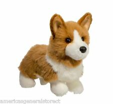 "Louie Tan Welsh Corgi Douglas Cuddle 10.5"" plush dog stuffed animal toy"