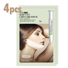 4 x Elixir Beauty Slim V Fit Chin Care Mask Patch Patch Tightening Care Essence
