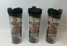 Starbucks Coffee Travel Tumbler x3  Pike Place Market 2012 Mint Condition!!