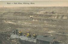 Hibbing MN * Rust – Hull Mine and Train  ca. 1908  Iron Ore