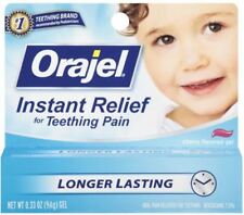 Baby Orajel 0.33 oz Instant Relief for Teething Pain Exp 6/18