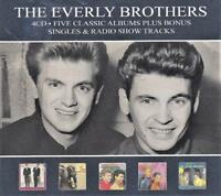 THE EVERLY BROTHERS - FIVE CLASSIC ALBUMS PLUS BONUS SINGLES (NEW SEALED 4CD) 5