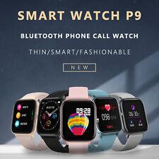 1,54 pulgadas P9 reloj inteligente Fitness tracker Monitor de frecuencia