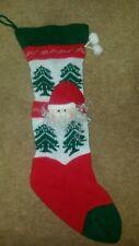 Ornament Decoration Santa Claus Papa Noel Father Christmas Xmas Sock Stocking