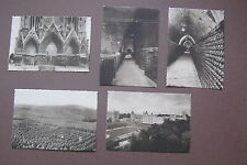 Lot of Five nicely matched French Postcards Champagne Pommery & Greng Reims