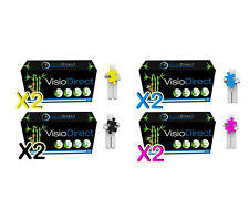 8 Toner cartouche pour HP Color Laserjet 2600 N CM1017 MFP 124A