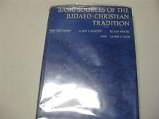 Basic Sources of the Judaeo-christian Tradition by Fred Berthold