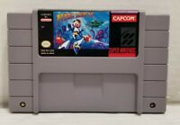 Mega Man X SNES Super Nintendo 1994 - Cart Only - Cleaned-TESTED Authentic VGC