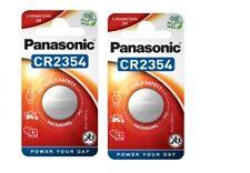 AVEC SUIVI Panasonic 2 PILES CR2354  bouton au lithium 3V