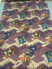 100 % coton matelassage craft tissu violet or chinois Oriental Kona Bay